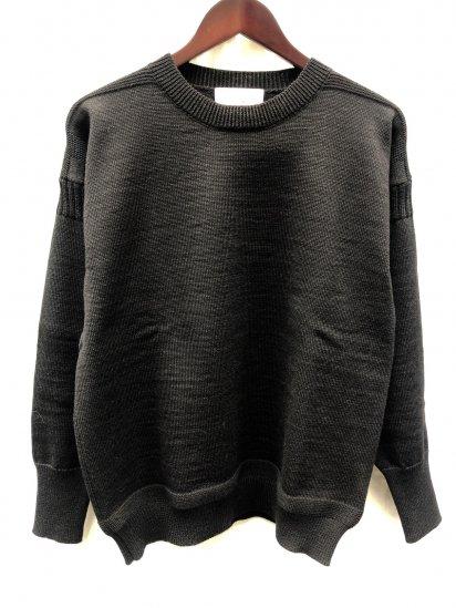 Vincent et Mireille 8GG Fishermans Sweater Black