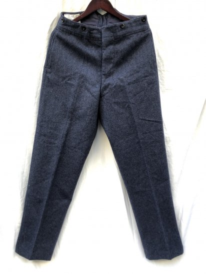 1952 Dated 50's Vintage RAF (Royal Air Force) Wool Trousers Good Condition