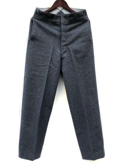 1951 Dated 50's Vintage RAF (Royal Air Force) Wool Trousers Good Condition