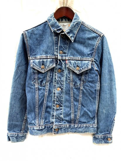 """60's~ Vintage Levi's 70505 """"BIG-E"""" Denim Jacket Made In USA"""