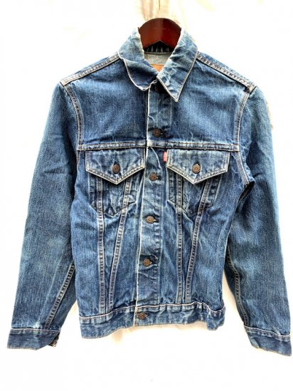 """70's Vintage Levi's 70505 """"Small e"""" Denim Jacket Made In USA"""