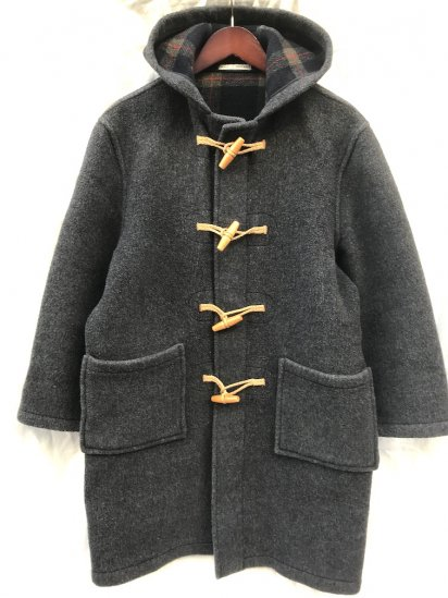 80-90's Vintage MONTGOMERY BY Tibbett Duffle Coat Made in England