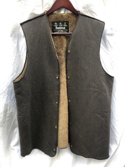 3 Crest Vintage Barbour A295 Pile Lining Made in ENGLAND for Border , Gamefair (SIZE : 42) / 7