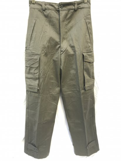 60's Vintage Dead Stock French Army M47 Cargo Pants