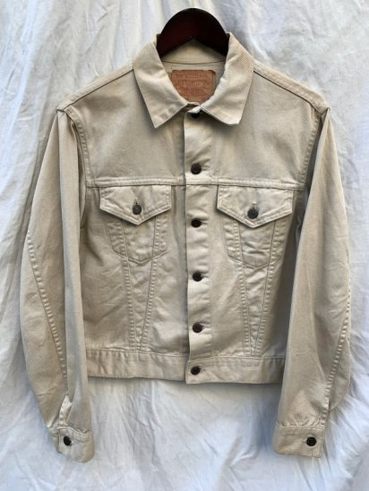 "60's Vintage LEVI'S 840 B ""Twill"" Big-E Jacket MADE IN U.S.A"