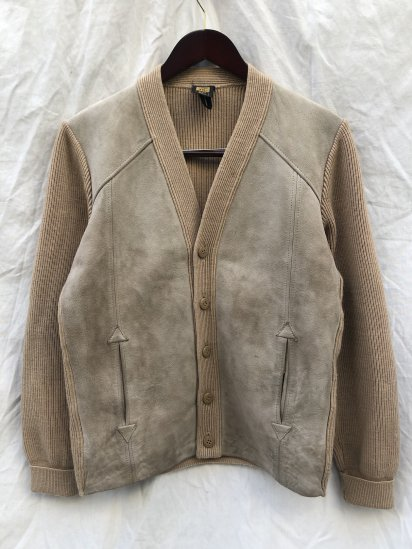 70-80's Vintage St.Michael Knit Cardigan Made in U.K