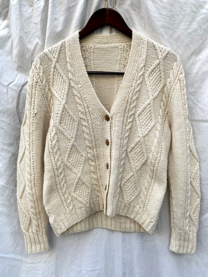 Vintage W's Cable Knit Sweater