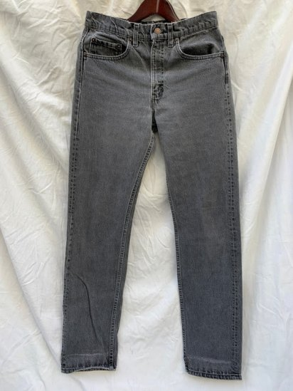 90's Old Levi's 505 Black Denim Pants Made in USA  (SIZE : 30 × 34)