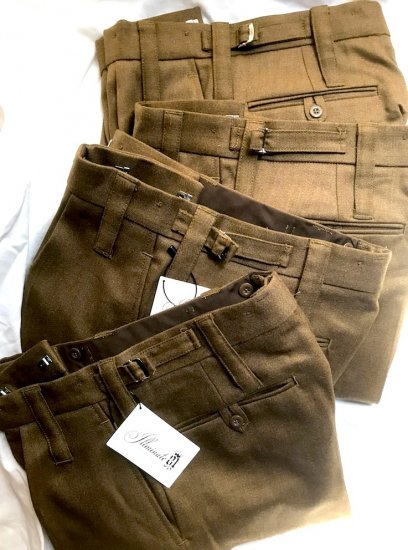 Dead Stock British Army All Ranks No.2 Dress Trousers Brown