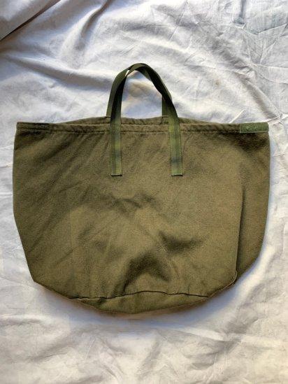 Vintage RAF (Royal Air Force) Cotton Moleskin Helmet Bag