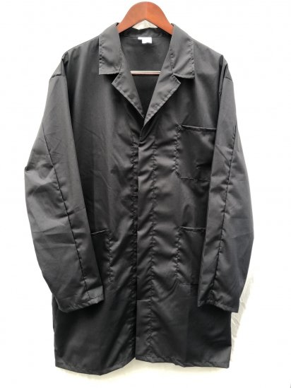 Massaua P/C Poplin Work Coat Made in Italy Black