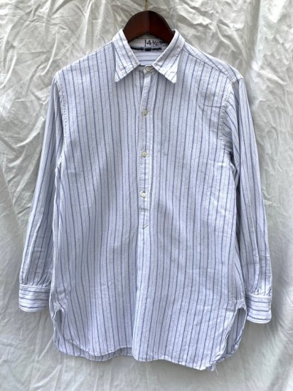 ~40's Vintage Cotton Flannel Pullover Shirts / 3
