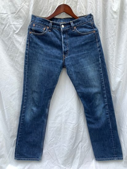 90's Old Levi's 501 Denim Pants Made in Turkey (SIZE : 31×30)