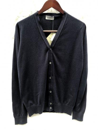 John Smedley Sea Island Cotton Knit Cardigan