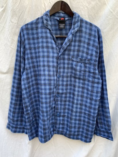 Old Hanes Cotton Flannel Sleeping Shirts