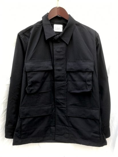 90's Dead Stock US Army BLACK 357 BDU Jacket Black