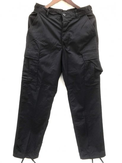 90's Dead Stock US Army BLACK 357 BDU Trousers