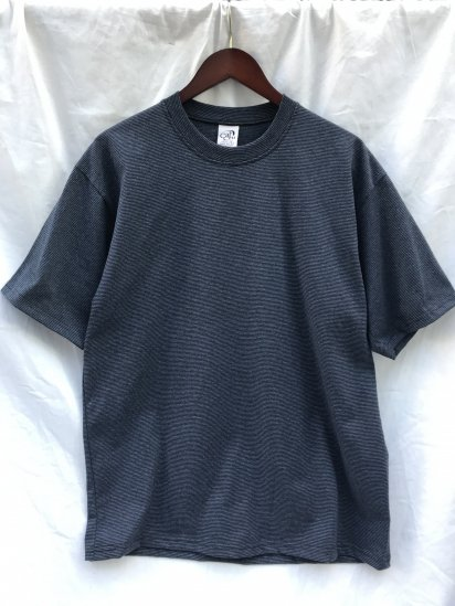 CalCru Micro Stripe T Shirts Made in USA Black