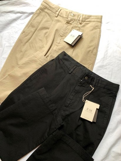 Riccardo Metha 1 Tac Pleated front Wide Trousers Made in ITALY