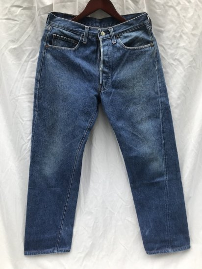 """80's ~ Old Levi's 501 Made in U.S.A """"RED-LINE"""" Good Condition 32 x 31"""