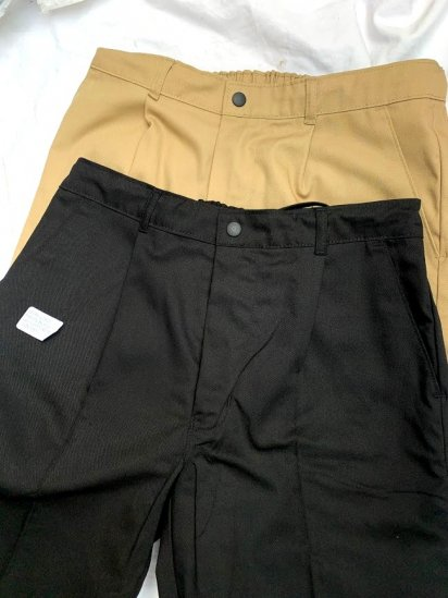 Uniform World  1 tuck Pleated Front Work Pants Made in England