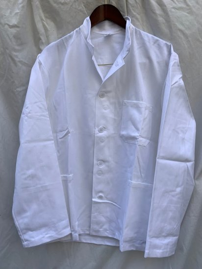 <img class='new_mark_img1' src='https://img.shop-pro.jp/img/new/icons50.gif' style='border:none;display:inline;margin:0px;padding:0px;width:auto;' />00's Vintage Dead Stock Czech Military Chef Jacket