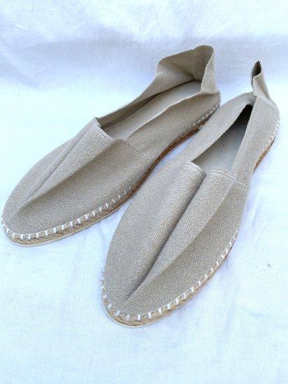La Cadena Espadrilles Shoes Made in France Sand