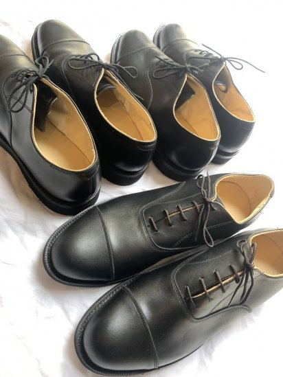 00's Dead Stock Canadian Military Cook Leather Shoes