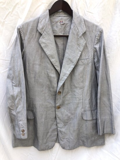 <img class='new_mark_img1' src='https://img.shop-pro.jp/img/new/icons50.gif' style='border:none;display:inline;margin:0px;padding:0px;width:auto;' />40's Vintage Bespoke Pin Check 2B Jacket Pin Check