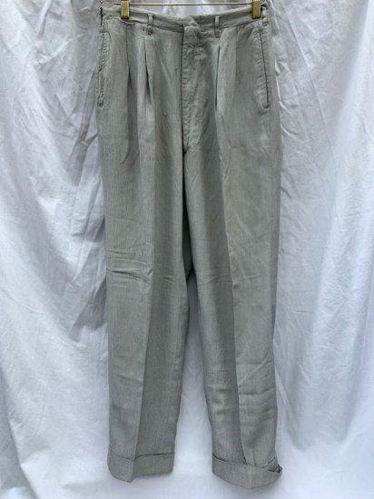 50-60's Vintage Cordlane Trousers <BR> W 30 x L 29