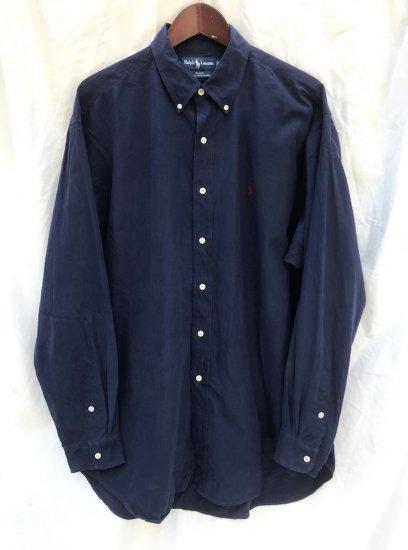 """90's ~ Old Ralph Lauren """"SILK x Cotton"""" B.D Shirts"""