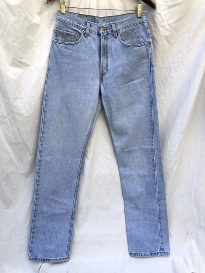 90's ~ Old Levi's 505 Denim Pants Made in U.S.A (SIZE : 31×34)