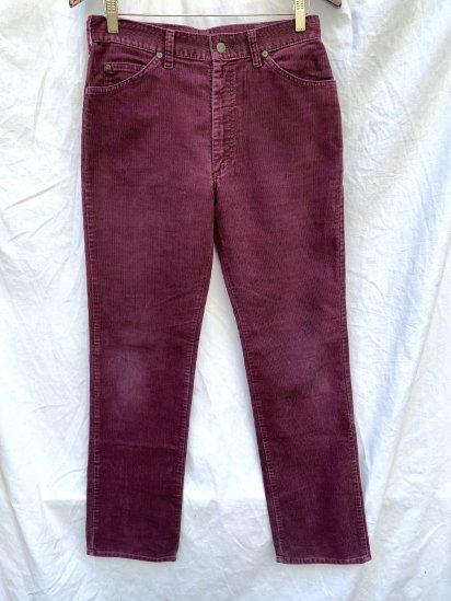 80's Vintage Lee Corduroy Pants Made In USA / 30x32