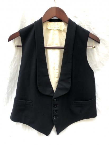 "30-40's Vintage ""Burton"" Bespoke Waist Coat Good Condition"