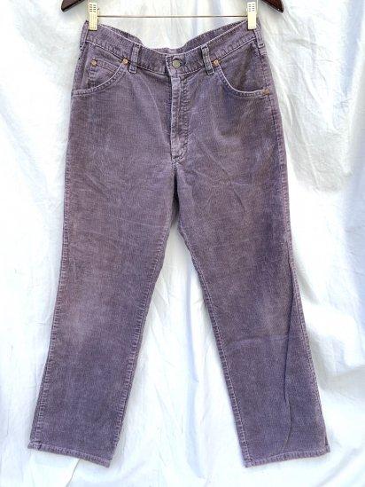 80's Vintage Lee Corduroy Pants Made In USA / 31×34