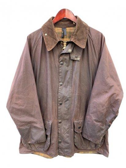 "3 Crest Vintage Barbour ""Beaufort Jacket"" Made in England Rustic Brown (SIZE : 44)"