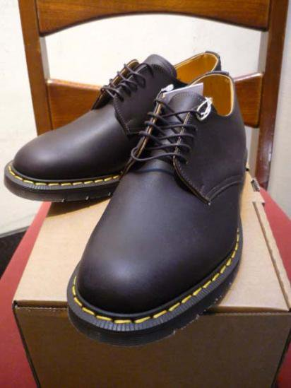 Illminate Shoes Supply 5 eyelet Oiled Leather Oxford Shoes
