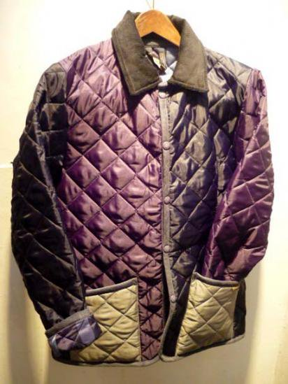 LAVENHAM Crazy Pattern Quilted Jacket