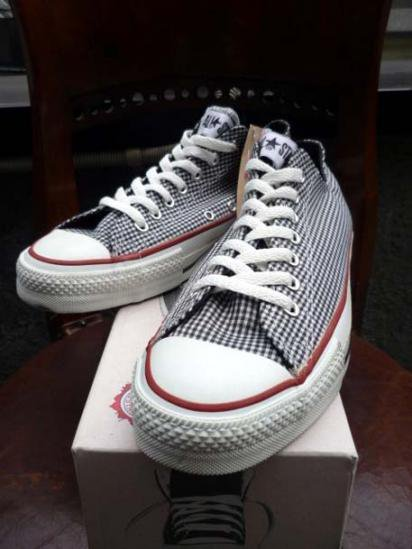 Converse ALL STAR Gingham 90'S Dead Stock