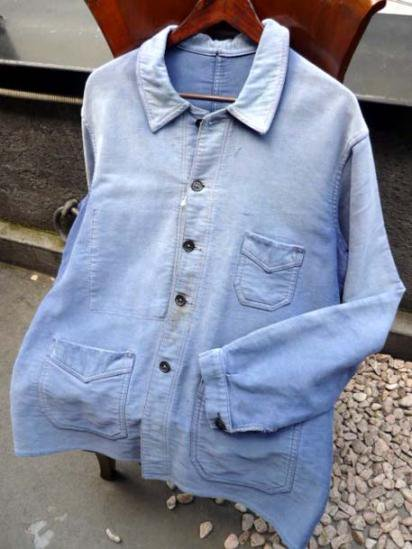 French Coverall 50`S Vintage