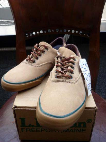 CONVERSE x L.L.Bean Boat Shoes 80-90'S Dead Stock