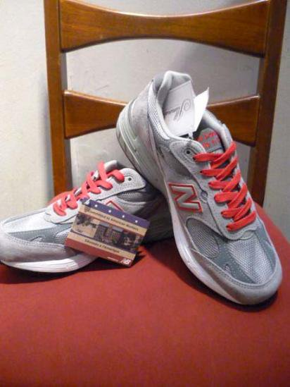 New Balance 993 GRY/RED