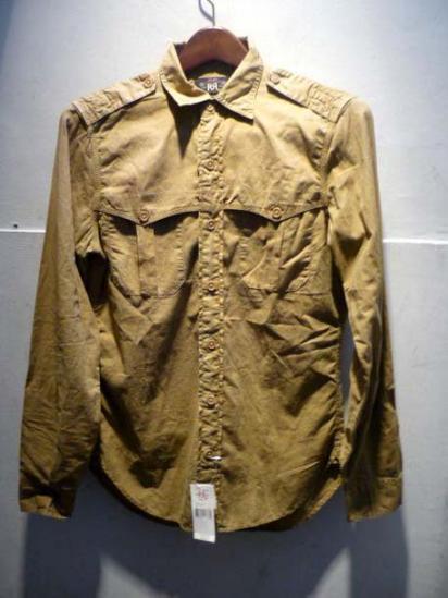 RRL  Military type Shirts