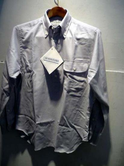 INDIVIDUALIZED SHIRTS Flannel hound tooth  illminate別注