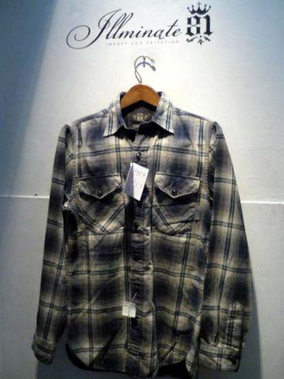 RRL Vintage Shadow check shirts