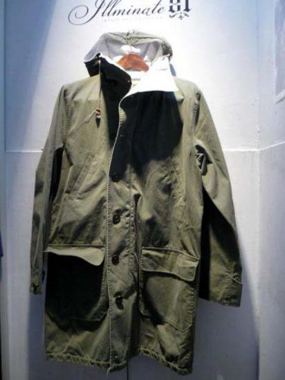 Ralph Lauren RUGBY Reversible military coat