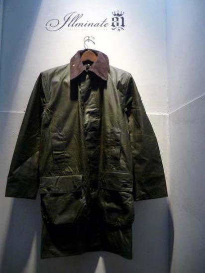 BARBOUR Border 80-90's Vintage Dead stock