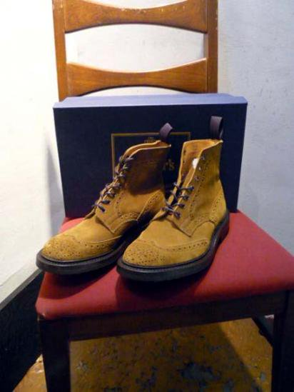Tricker's Country Boots suede