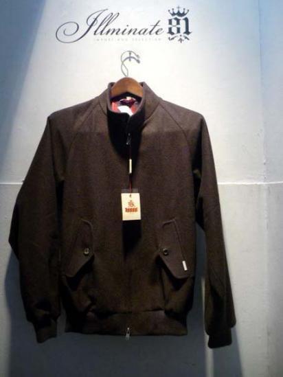 BARACUTA G-9  Jacket Wool herringbone