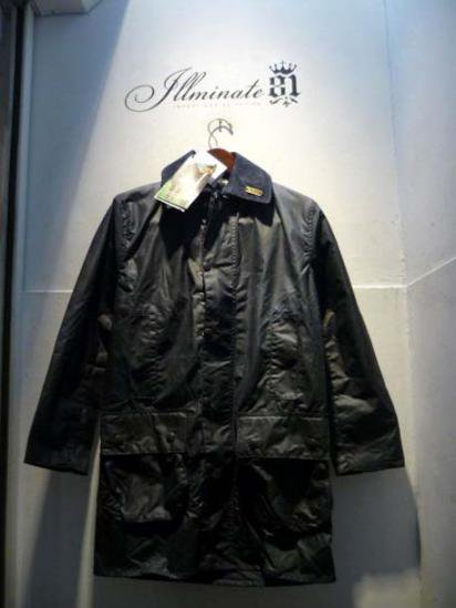 BARBOUR Border 80-90's Vintage Dead stock 32